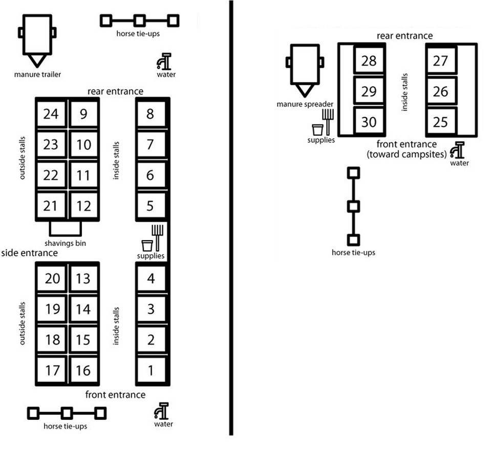 Stall Layout